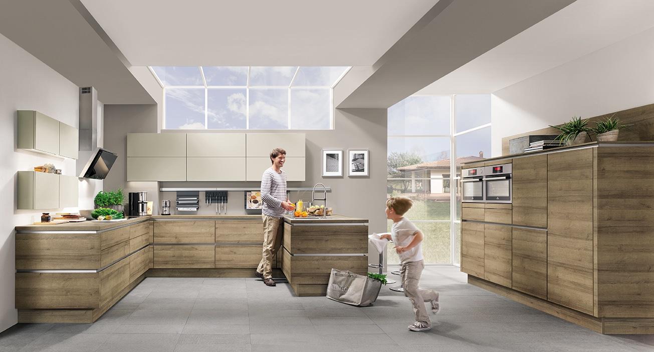 Plan de travail nobilia en u with plan de travail nobilia trendy la cuisine qui vous va with - Cuisine direct fabricant ...